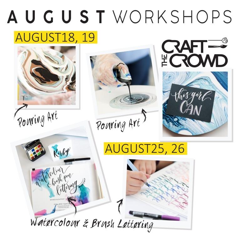August 2018 Schedule