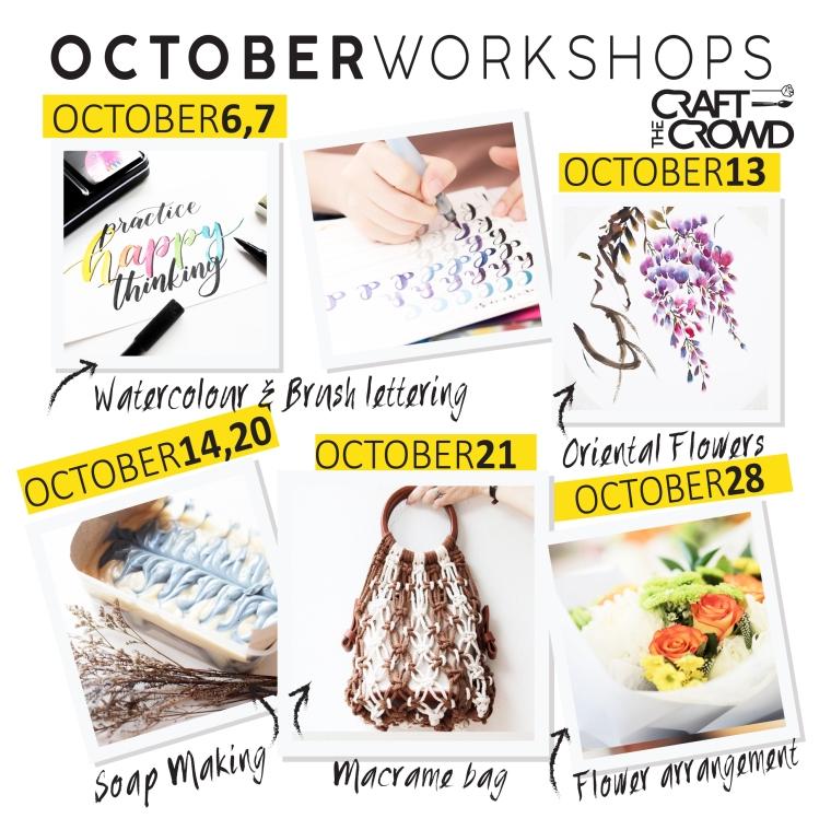 October 2018 Schedule