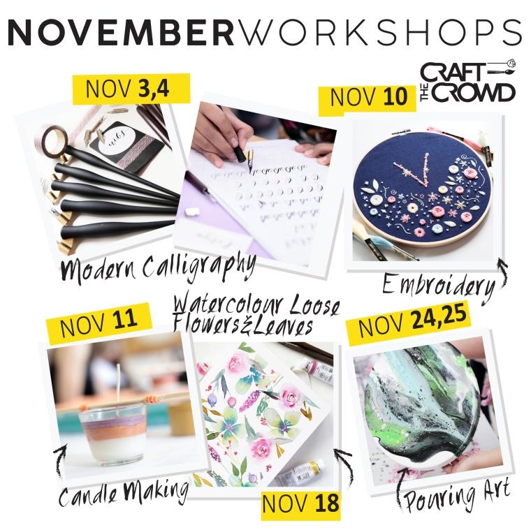 November 2018 Schedule