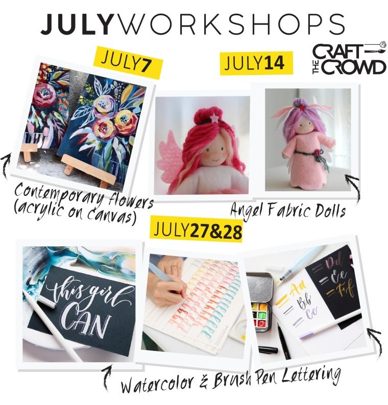 JULY 2019 Schedule