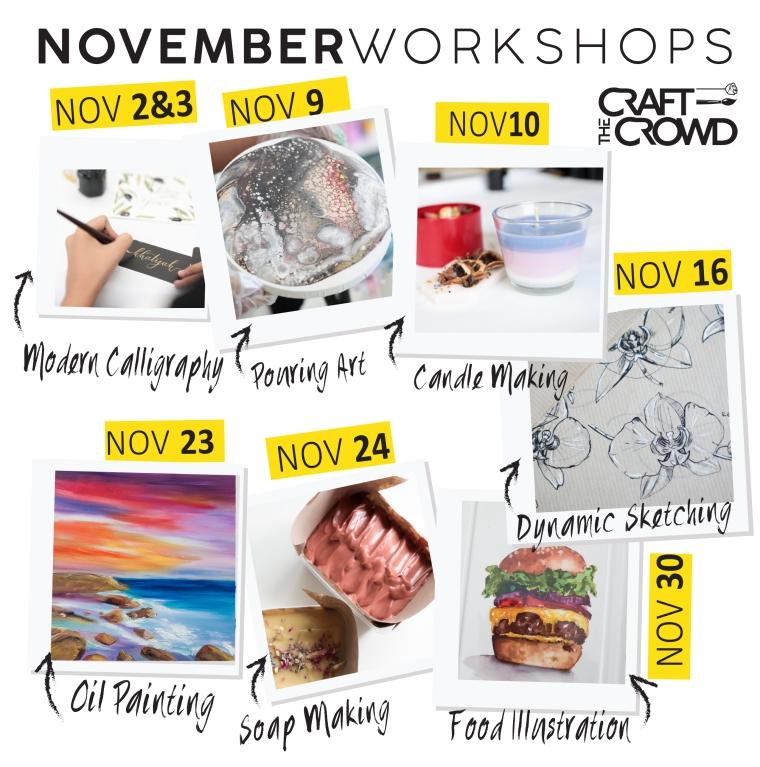 November 2019 Schedule